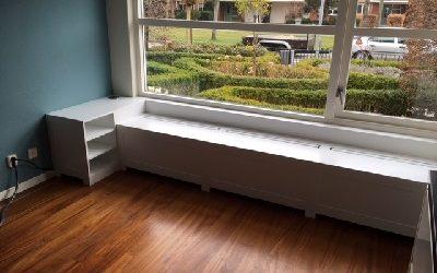 Erkerbank recht met kastje Nieuw Vennep