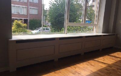 Radiatorombouw facet schuin Den Haag