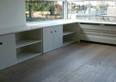 Radiatorombouw tv meubel