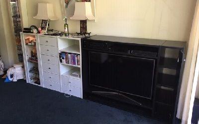 TV meubel zwart wit Voorburg